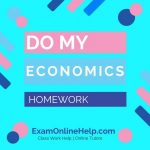 Do My Economics Homework