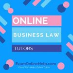 Online Business Law Tutors