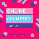 Online Geometry Tutors
