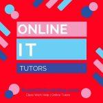 Online Information Technology Tutors