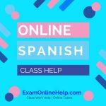 Online Spanish Class Help
