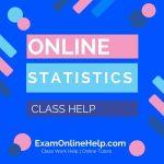 Online Statistics Class Help
