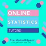 Online Statistics Tutors