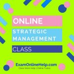 Online Strategic Management Class