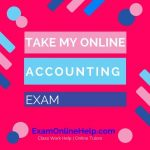 Take My Online Accounting Exam