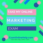 Take My Online Marketing Exam