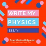 Write My Physics Essay