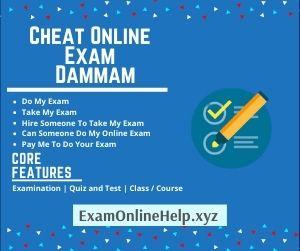 Cheat Online Exam Dammam