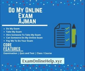 Do My Online Exam Ajman