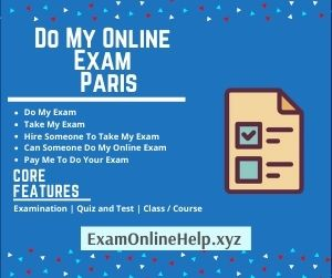 Do My Online Exam Paris
