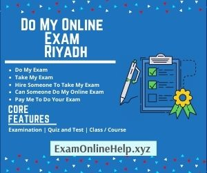 Do My Online Exam Riyadh