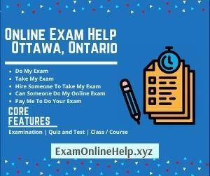 Online Exam Help Ottawa Ontario