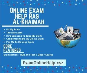 Online Exam Help Ras Al-Khaimah