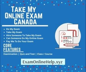 Take My Online Exam Canada