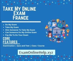 Take My Online Exam France