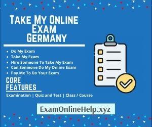 Take My Online Exam Germany