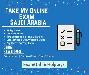 Take My Online Exam Saudi Arabia