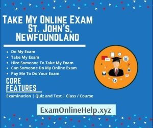 Take My Online Exam St Johns Newfoundland