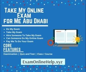 Take My Online Exam for Me Abu Dhabi