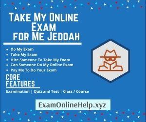 Take My Online Exam for Me Jeddah